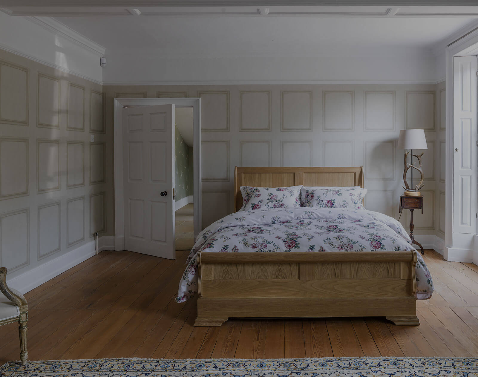 Picture of: My Oak Sleigh Bed Lee Furniture